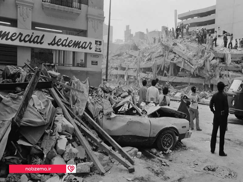 جای ناامن در زلزله