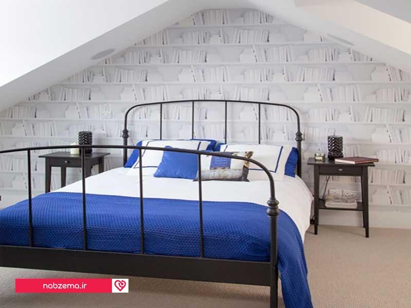 کاغذ دیواری خاص برای اتاق های زیر شیروانی