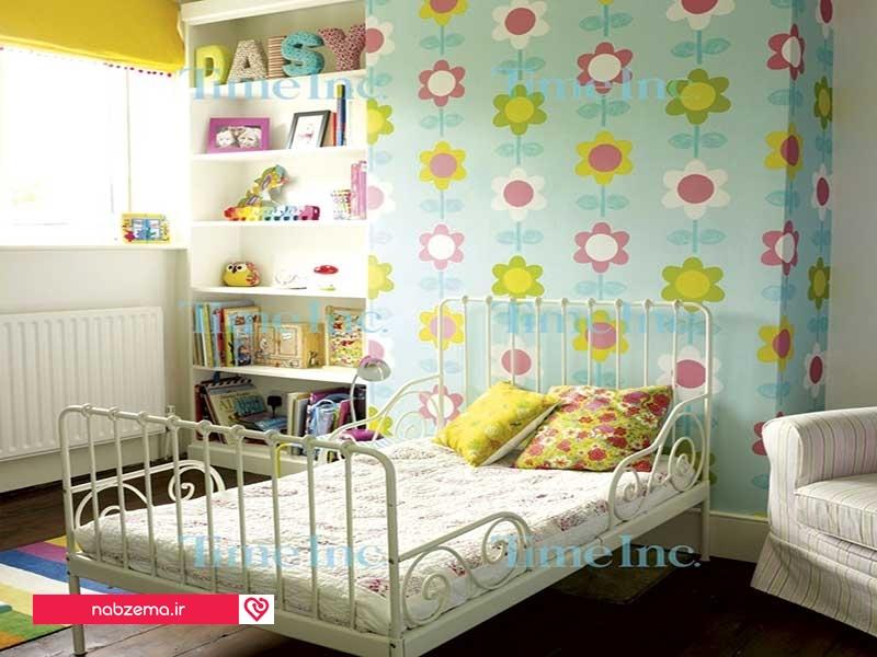 کاغذ دیواری اتاق کودک دخترانه