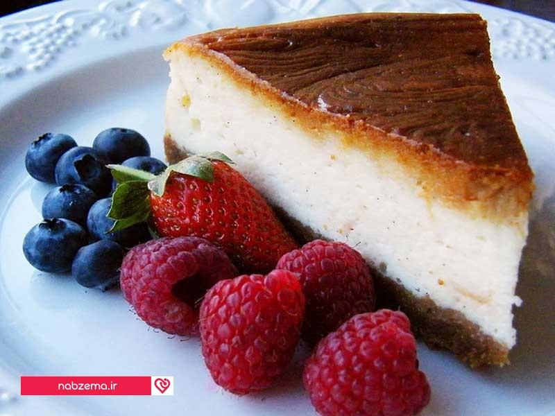 کیک ماست یونانی