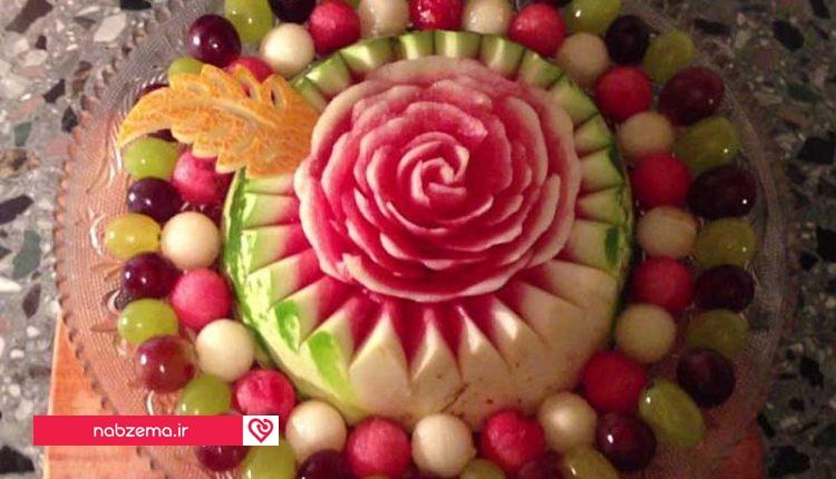عکس تزیین هندوانه