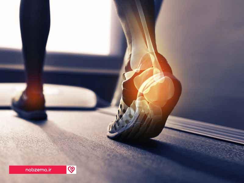 درد مچ پا در صبح