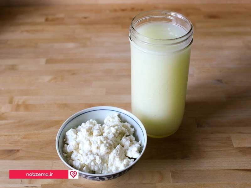 پروتئین-آب-پنیر