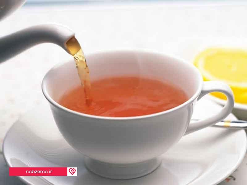 ضرر چای برای معده