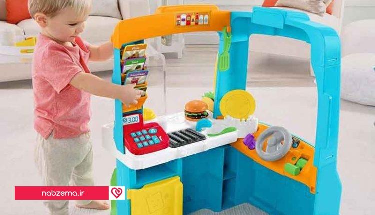 اسباب بازی برای کودک دو ساله
