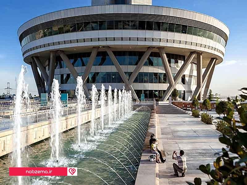 عکسهای داخل برج میلاد تهران