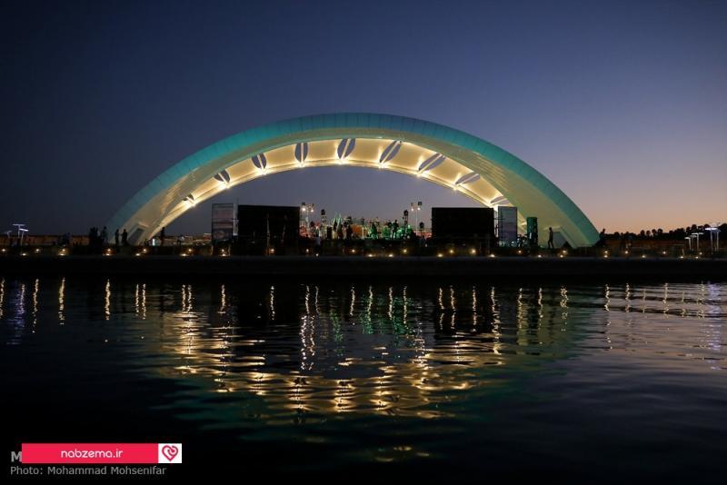 عکس دریاچه خلیج فارس