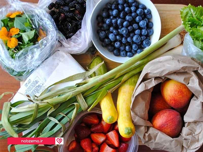 غذاهای سالم رژیم غذایی آمریکایی