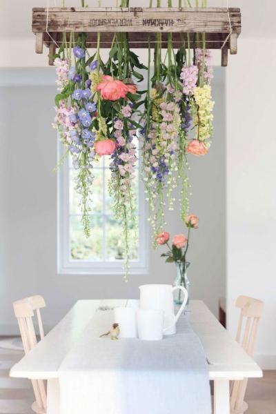 تزئین با گل