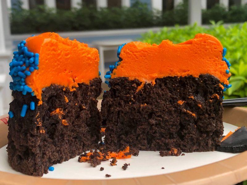 شیرینی شکلاتی و نارنجی فانتزی جدید