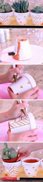گلدان دستساز