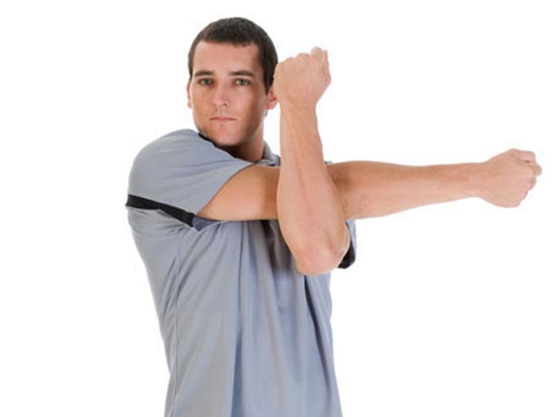 ورزش شانه برای درمان گزگز دست و پا