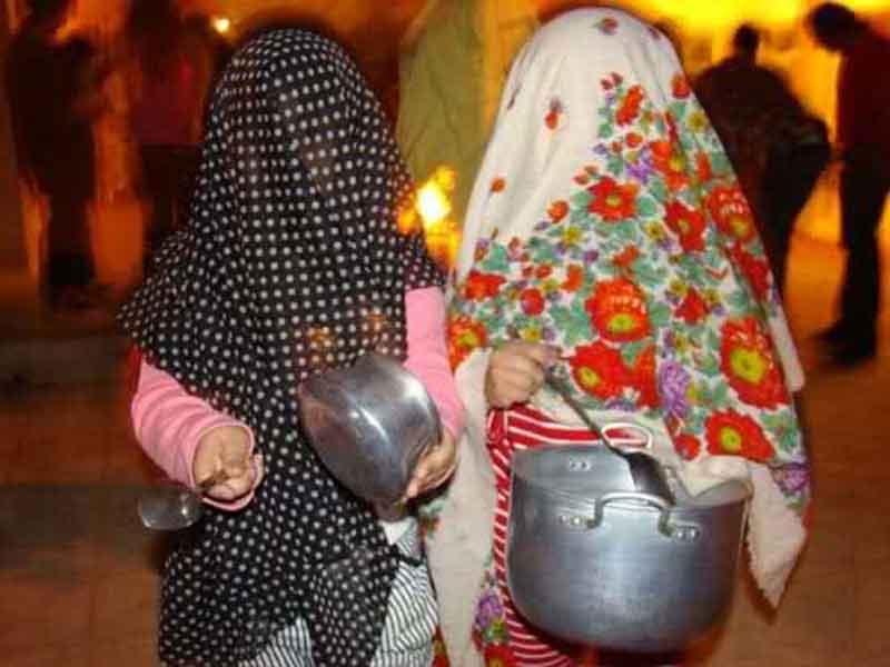 قاشق زنی در چهارشنبه سوری