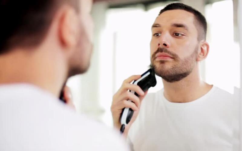 بعد از اصلاح صورت مردان