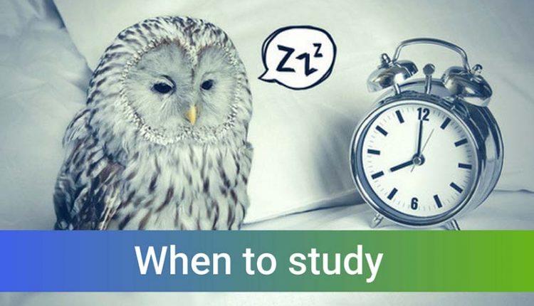 بهترین ساعت مطالعه برای کنکوری ها