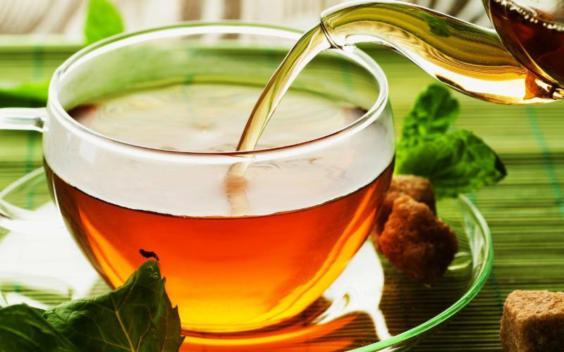 بهترین دمنوش ها برای لاغری چای ریبوس