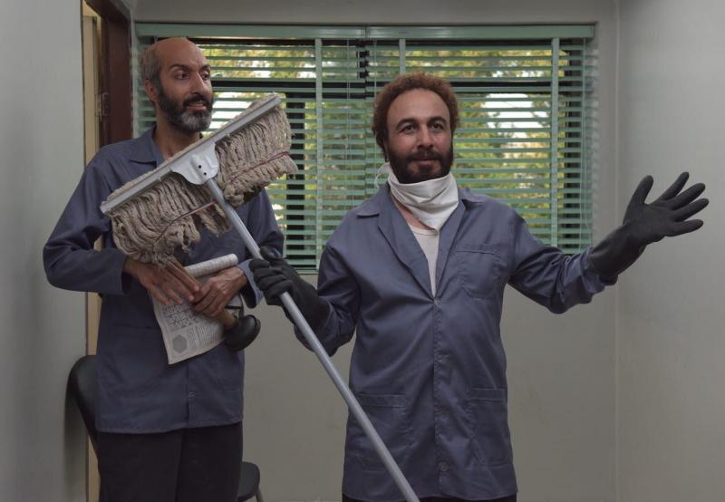 رضا عطاران و امیرمهدی ژوله در فیلم هزارپا