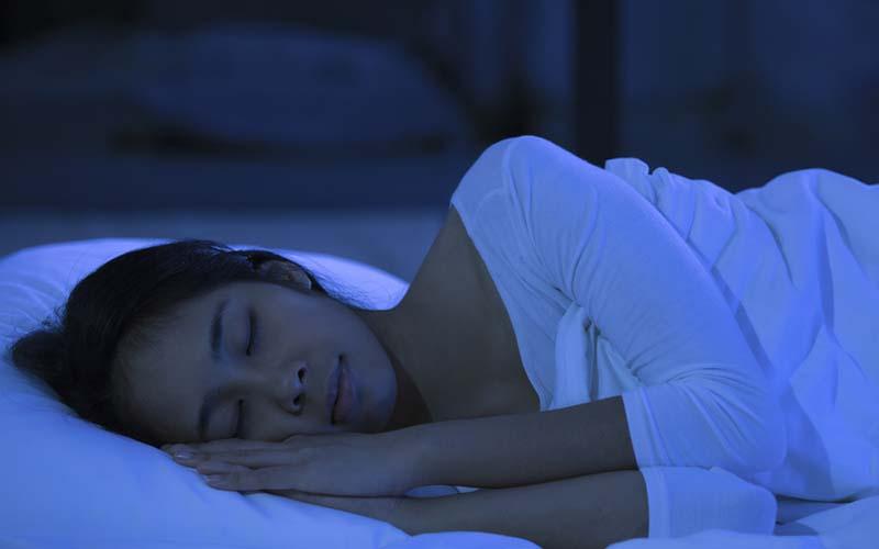 خوابیدن بعد از بوتاکس