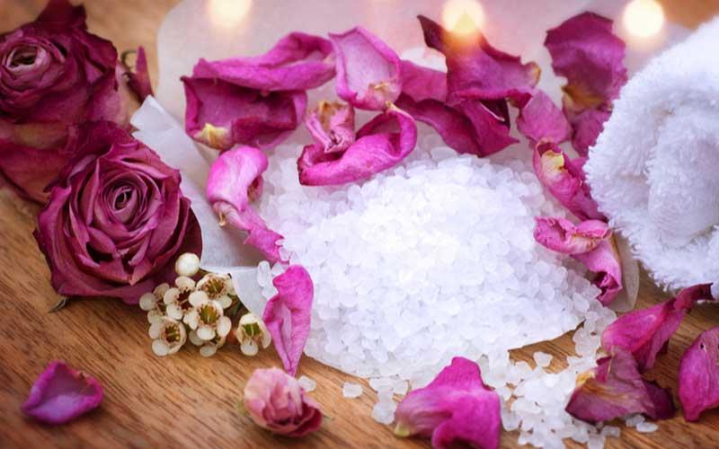 نمک درمانی یا هالو تراپی