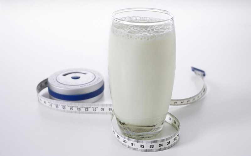 رژیم لاغری شیر یک ماهه