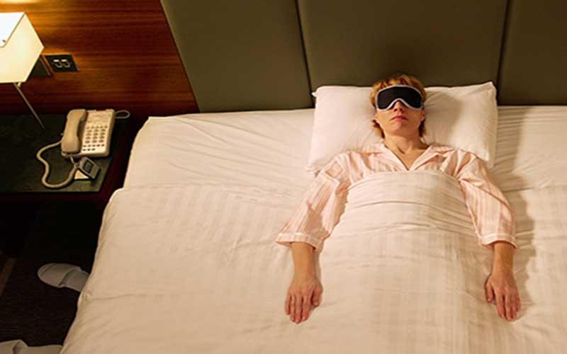 طرز صحیح خوابیدن