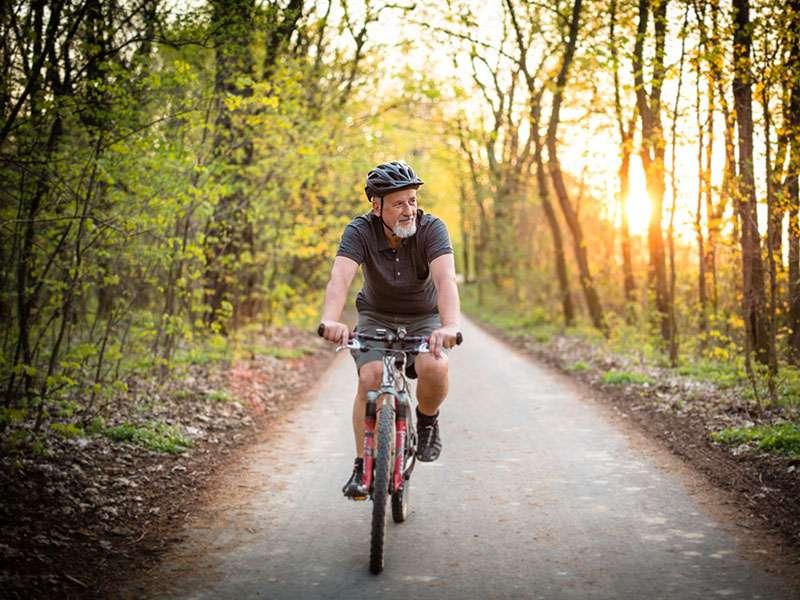 دوچرخه سواری برای بیماران قلبی