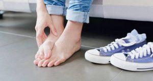 قارچ کف پا در باشگاه ورزشی