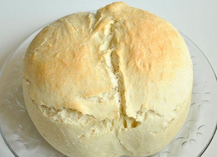 نان خانگی بدون فر